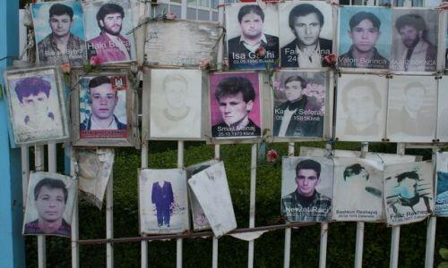 SERBIA / Kosowo / Prisztina / Zaginieni