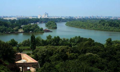 SERBIA / - / Belgrad / Zejście Dunaju i Sawy