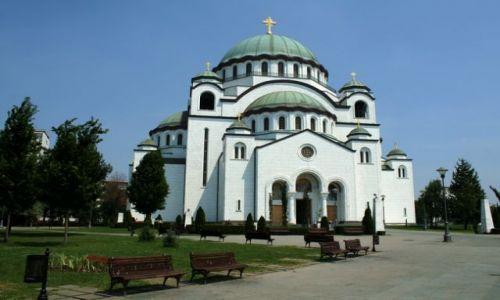 SERBIA / - / Belgrad / Cerkiew Św. Sawy