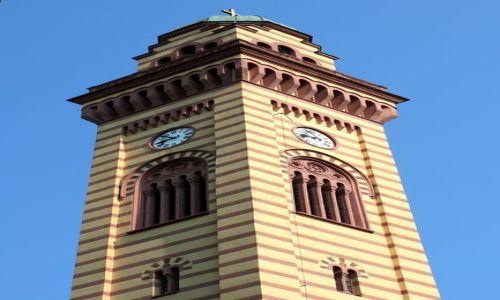 SERBIA / - / Jagodina / Wieża zegarowa przy cerkwi