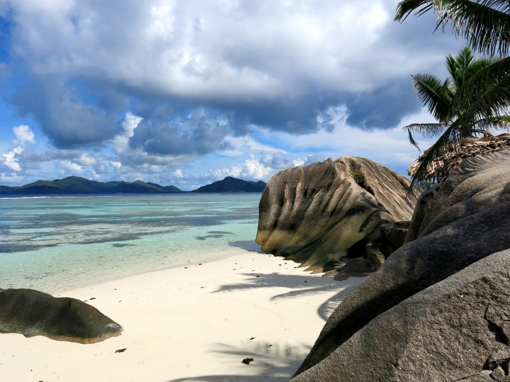 Zdjęcia: Plaża La Digue, Wyspa La Digue, konkurs  - Czy tak będzie w raju?, SESZELE