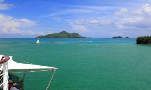 Zdjęcie SESZELE / wyspy / wyspa Mahe / Kolory Oceanu Indyjskiego
