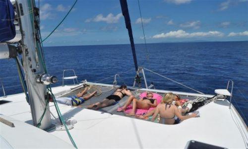 Zdjęcie SESZELE / -Seszele / Seszele / Seszele, Sjesta na pokładzie :)