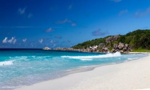 Zdjęcie SESZELE / La Digue /  plaża Grand Anse / Seszele