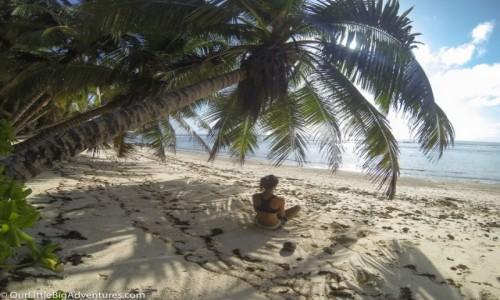 Zdjęcie SESZELE / Mahe / dzika plaża / Tropical Vibes