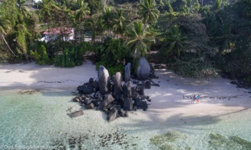 Zdjęcie SESZELE / Mahe / Fairyland, Anse Royale / hello beach