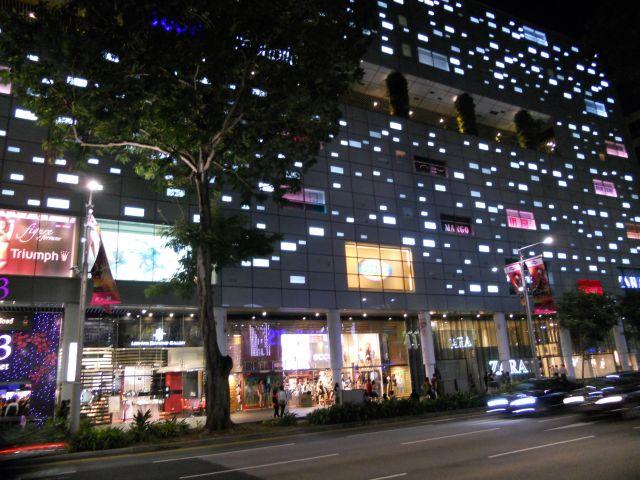 Zdjęcia: Singapur, Miasto SINGAPUR nocą, SINGAPUR