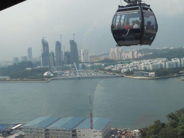 Zdjęcia: Singapur, Gondola nad miastem Singapur, SINGAPUR