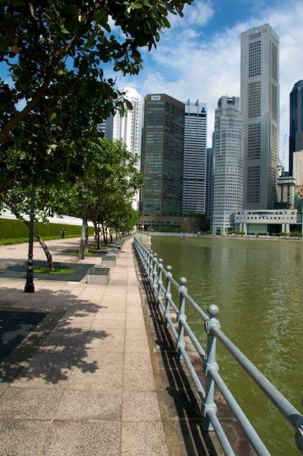 Zdjęcia: Singapore, Deptak i rzeka (Singapore), SINGAPUR