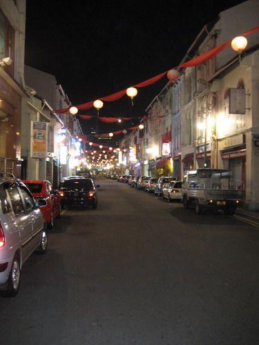 Zdjęcia: uliczka, dzielnica chińska, NOC, SINGAPUR