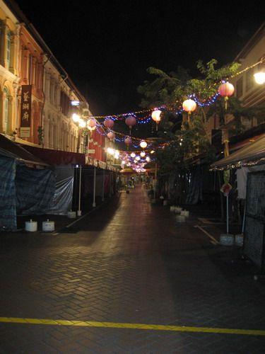 Zdjęcia: uliczka, dzielnica chińska, Dzielnica Chińska nocą , SINGAPUR