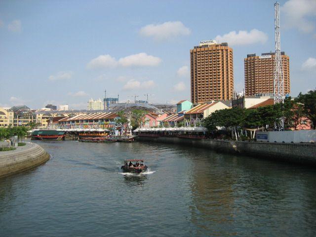 Zdjęcia: Rzeka, Nabrzeże, Singapure River, SINGAPUR