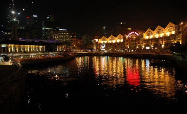 Zdjęcia: Singapore, Singapore, Nocą, SINGAPUR