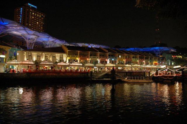 Zdj�cia: Singapore, Singapore, Centrum imprezowe, SINGAPUR