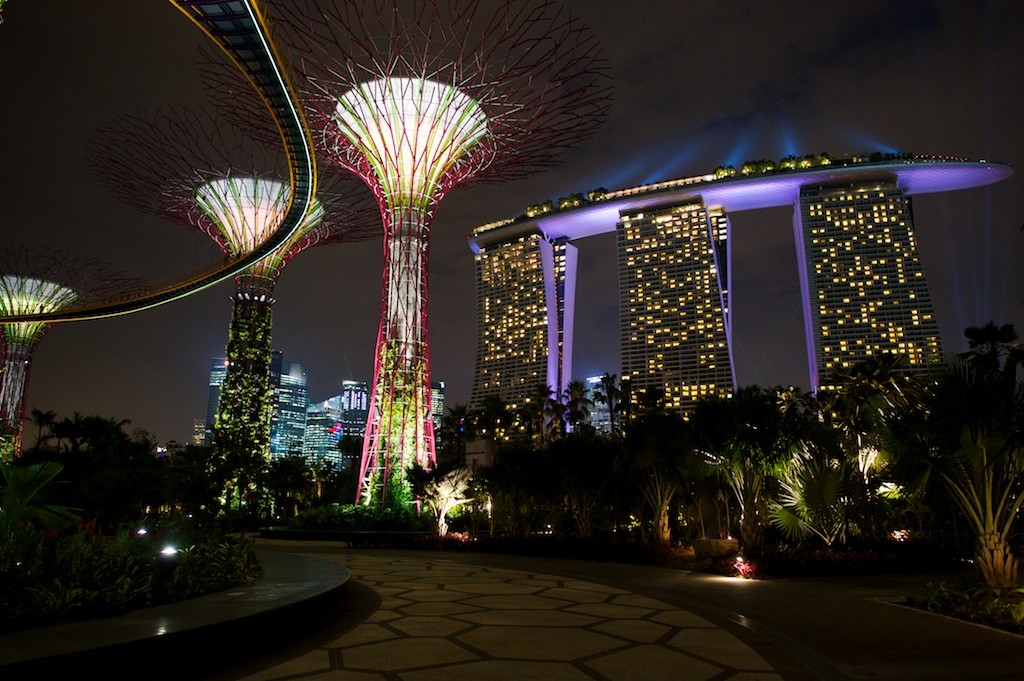 Zdjęcia: Singapore, Marina Bay, Konkurs - Spełnione Marzenia, Gardens by the Bay & Marina Bay Sands, SINGAPUR