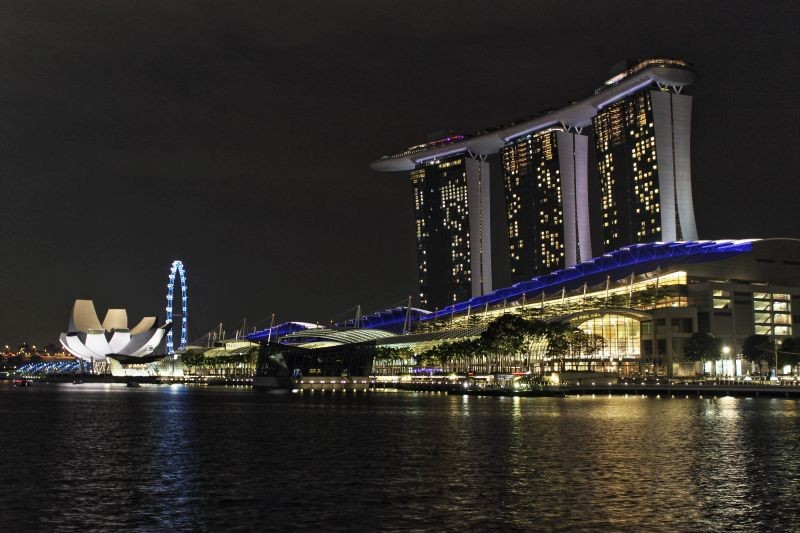 Zdjęcia: Marina Bay Sands, Singapur, Marina Bay Sands, SINGAPUR