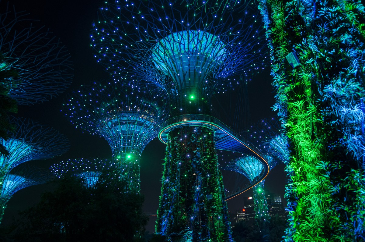 Zdjęcia: Singapur, Singapur, Gardens by the Bay, SINGAPUR
