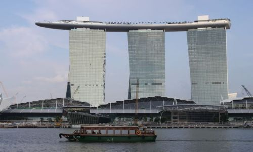 Zdjecie SINGAPUR / Singapur / marina bay sands / singapurska zap