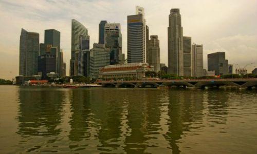 SINGAPUR / Singapur / Centrum / Widok na miasto