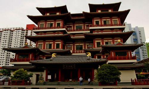 SINGAPUR / Singapur / Chinatown / Budda Tooth Relic Temple