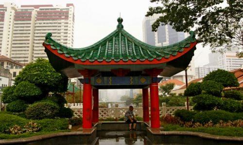 SINGAPUR / Singapur / Chinatown / Strare vs Nowe