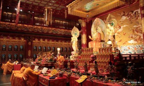 SINGAPUR / - / Świątynia Zęba Buddy / Singapur 11