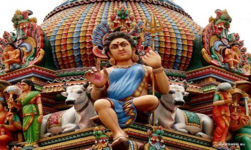 SINGAPUR / - / Hinduska Świątynia / Singapur 18