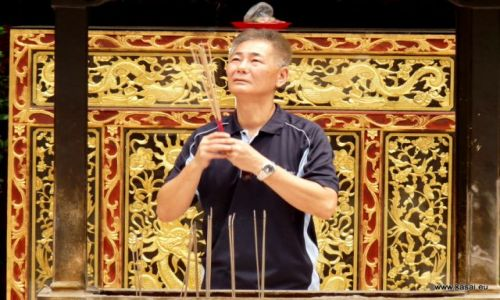 SINGAPUR / - / Świątynia Thian Hock Keng / Singapur 21
