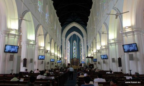 SINGAPUR / - / Katedra św Andrzeja / Singapur 24