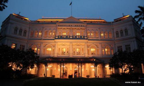 Zdjęcie SINGAPUR / - / Hotel Raffles / Singapur 25