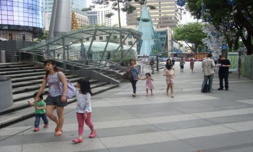 Zdjecie SINGAPUR / Singapore / Orchard Rd. / Orchard Road