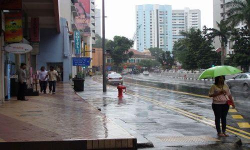 Zdjecie SINGAPUR / Singapore / - / Singapur w deszczu