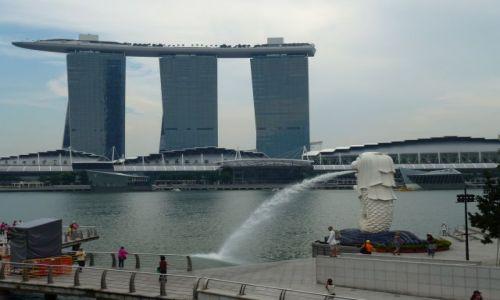 Zdjecie SINGAPUR / Marina Bay / Marina Bay / Merlion 2