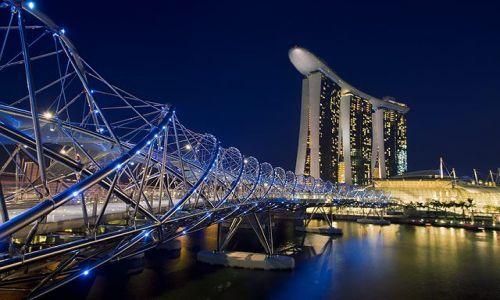 Zdjecie SINGAPUR / Marina / Marina / Singapore Marin