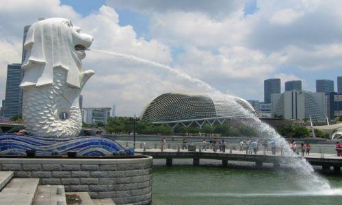 Zdjecie SINGAPUR / Singapur / nadbrzeże / Miasto lwa