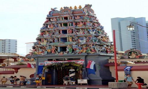 Zdjecie SINGAPUR / - / Singapur / Świątynia Sri Mariamman