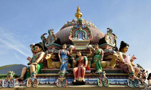 Zdjecie SINGAPUR / - / Singapur / Sri Mariamman Temple