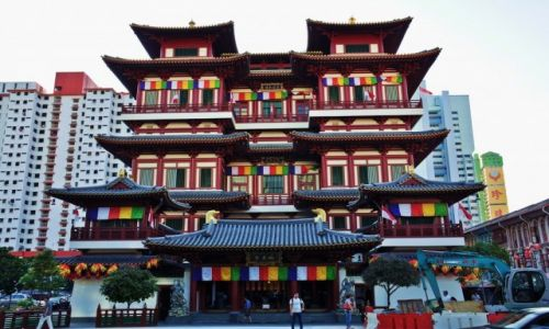 Zdjecie SINGAPUR / - / Singapur / Buddha Tooth Relic Temple