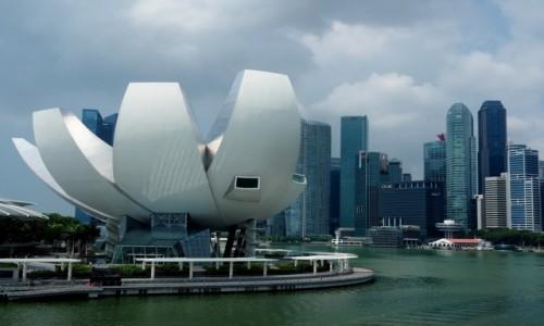 Zdjęcie SINGAPUR / płd -wsch Azja / Marina Bay / ArtScience Museum