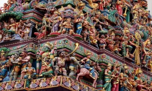 Zdjecie SINGAPUR / płd -wsch Azja / Little India / Sri Veeramakaliamman Temple