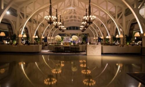 Zdjęcie SINGAPUR / Marina Bay / The Fullerton Bay Hotel / Restauracja Clifford