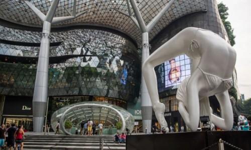 Zdjęcie SINGAPUR / Orchard Road / ION / Zakupy w ION przy Orchard Road