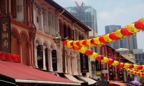 Zdjecie SINGAPUR / płd -wsch Azja / Chinatown / Chinatown