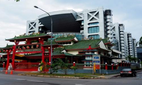 Zdjecie SINGAPUR / p�d -wsch Azja / Singapur / Kontrasty