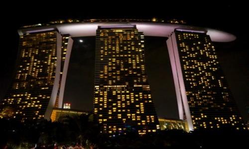 Zdjecie SINGAPUR / płd -wsch Azja / Marina Bay / Marina Bay Sand