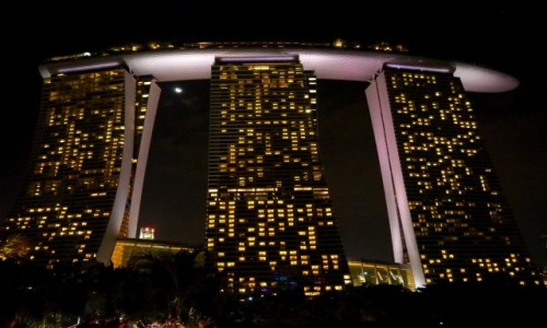 Zdjecie SINGAPUR / p�d -wsch Azja / Marina Bay / Marina Bay Sand