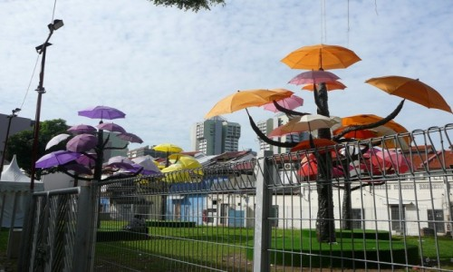 Zdjecie SINGAPUR / - / gdzieś w mieście / Miejskie instal