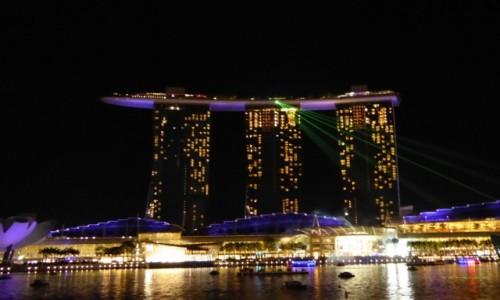 SINGAPUR / Marina Bay Sands / Marina Bay Sands / Bogactwo i magia swiateł