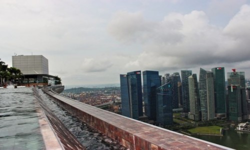 Zdjecie SINGAPUR / Singapur / Marina Bay Sands / Marina Bay Sands
