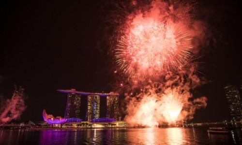 Zdjecie SINGAPUR / Singapur / Singapur / Marina bay